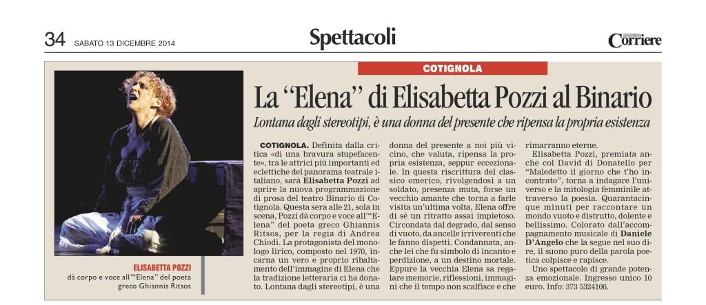 Corriere articolo Pozzi