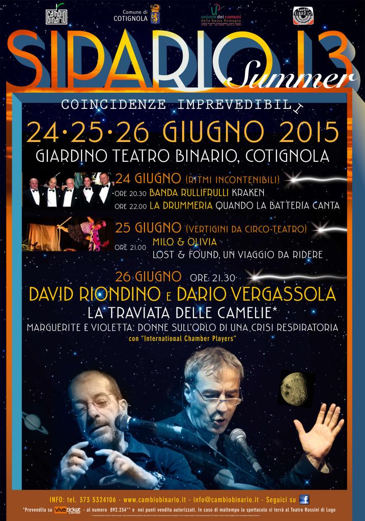 Manifesto Sipario 13 2015 Summer